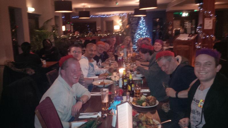 Luton Karate Christmas Dinner