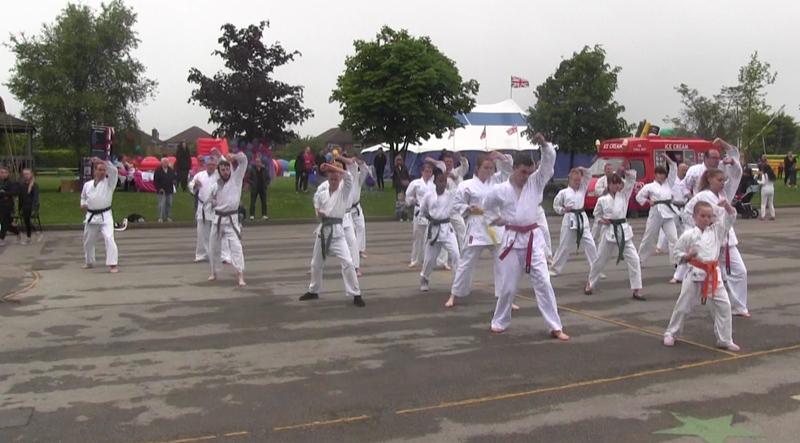 Luton Karate Demo