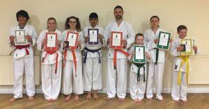 Luton Karate Grading