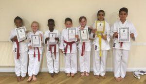 Luton Wado Ryu Karate Grading
